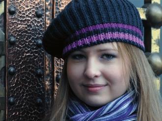 Шапка зимна плетена
