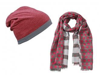 Весел комплект от шал и шапка