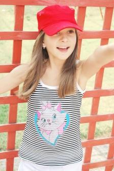 Детска шапка в армейски стил