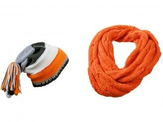 Комплект от шал и шапка