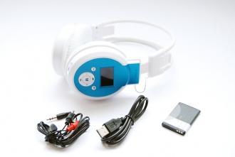 Слушалки с радио и MP3 плеър