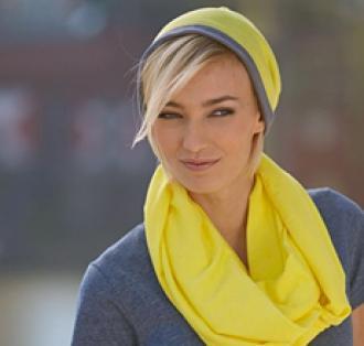 Двуцветна шапка