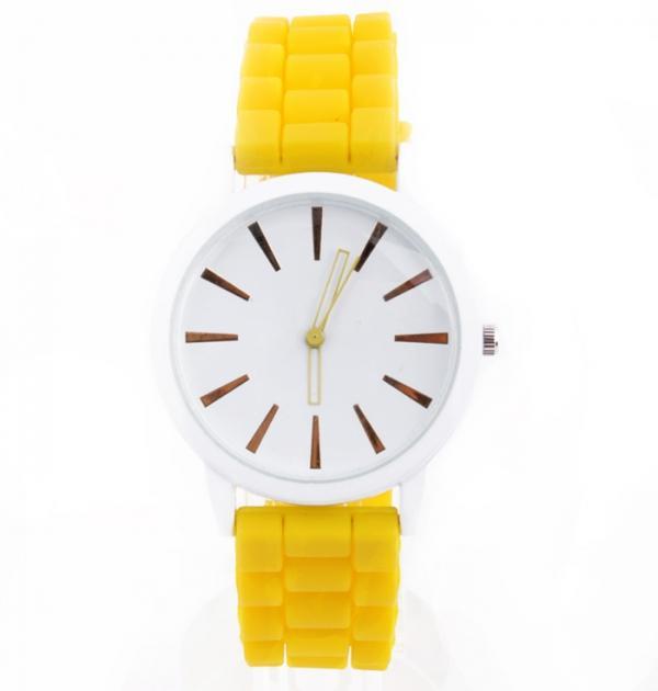 Жълт дамски часовник