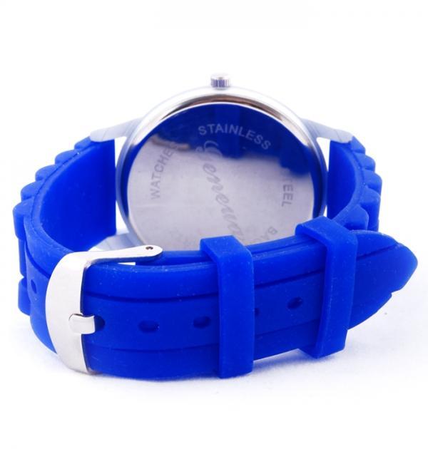 Тъмно син дамски часовник