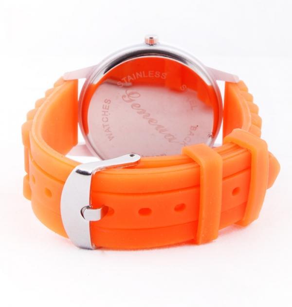 Оранжев дамски часовник