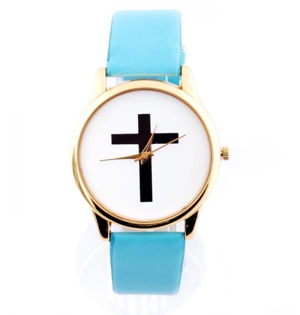 Син часовник с кръст
