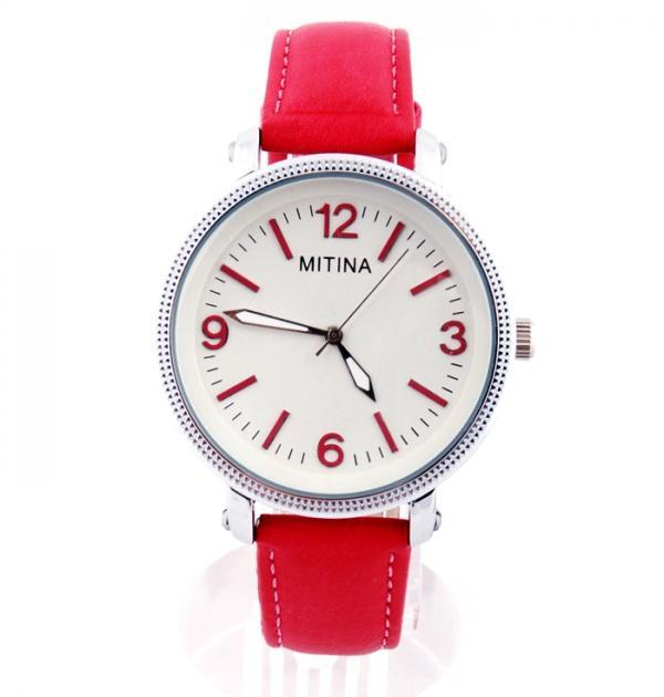 Елегантен червен часовник