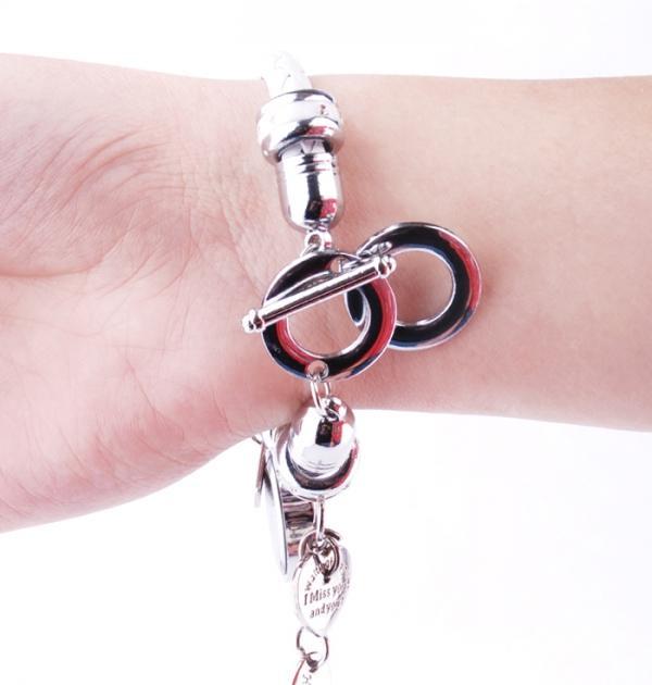Бял часовник - гривна