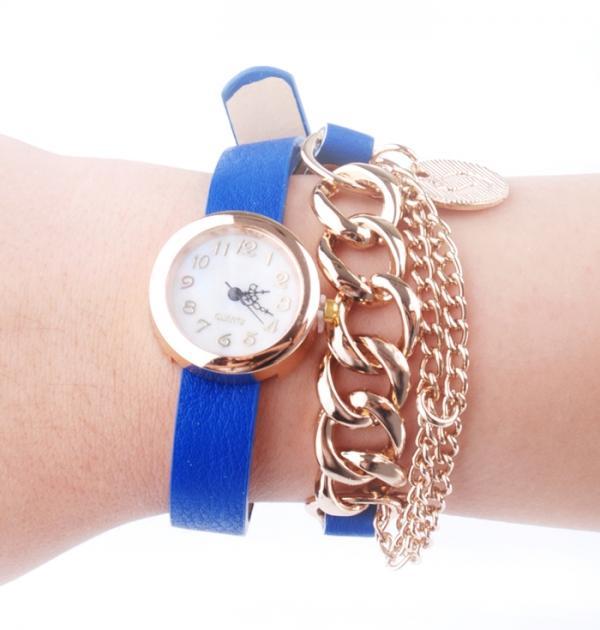 Часовник - гривна с висулки