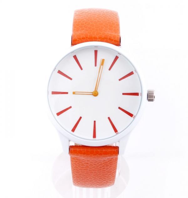 Оранжев спортен часовник