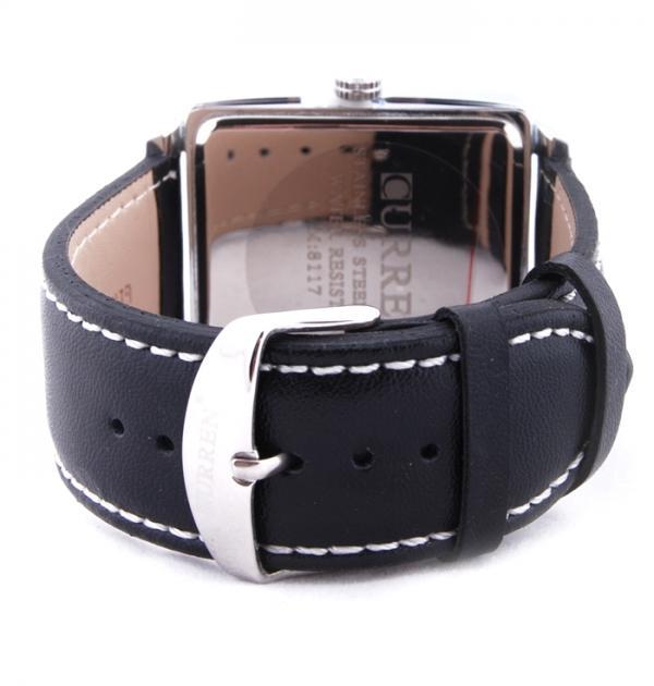 Мъжки часовник с бял циферблат