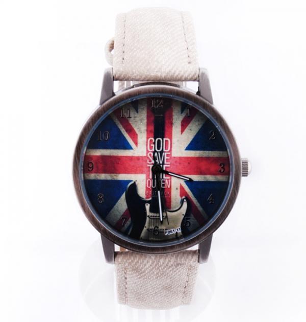 Часовник с британското знаме