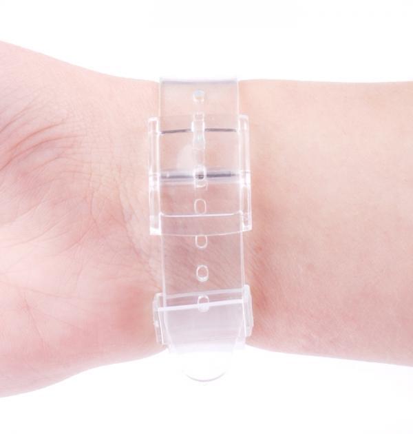Часовник с череп и силиконова каишка