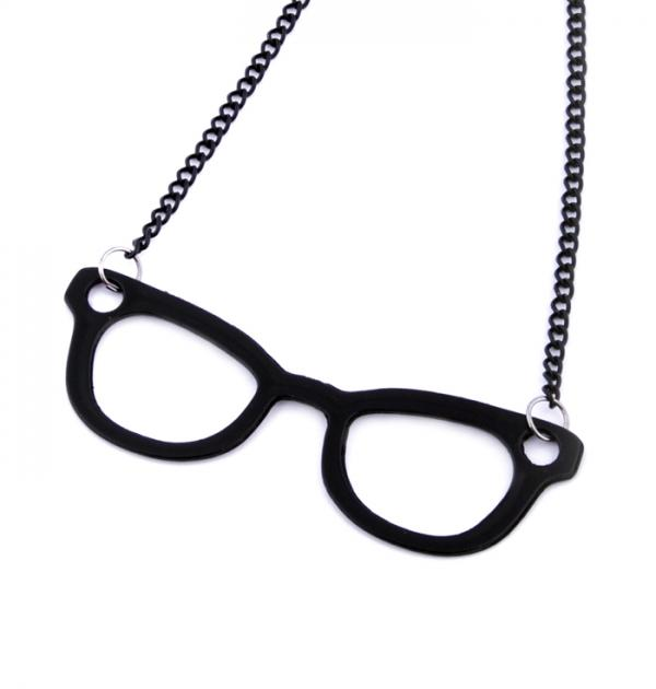 Колие Очила - Черни