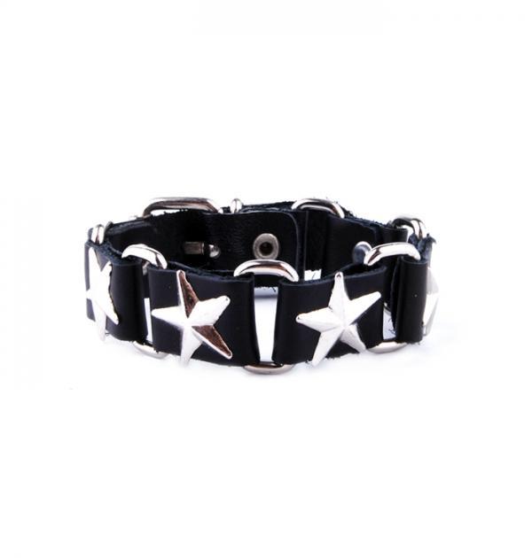 Гривна със звезди - Черна