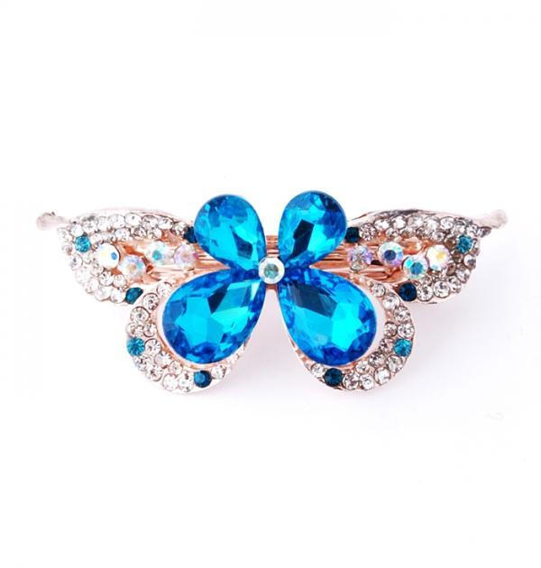 Шнола Пеперуда със сини камъни