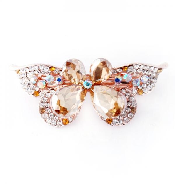 Шнола Пеперуда с жълти камъни