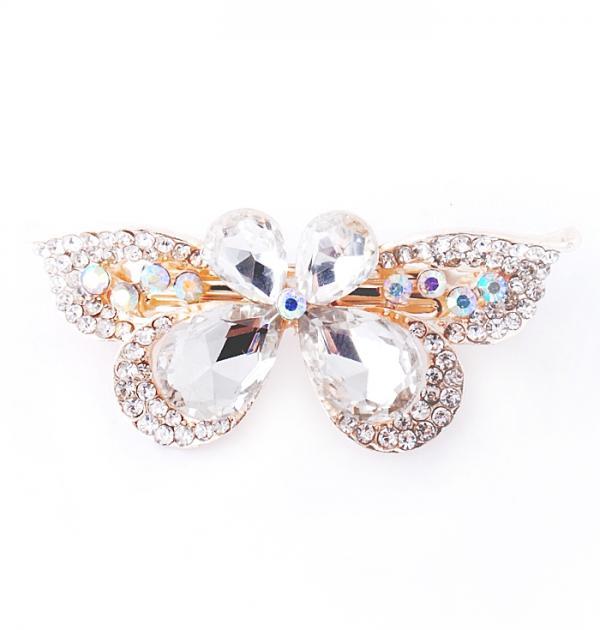 Шнола Пеперуда с бели камъни