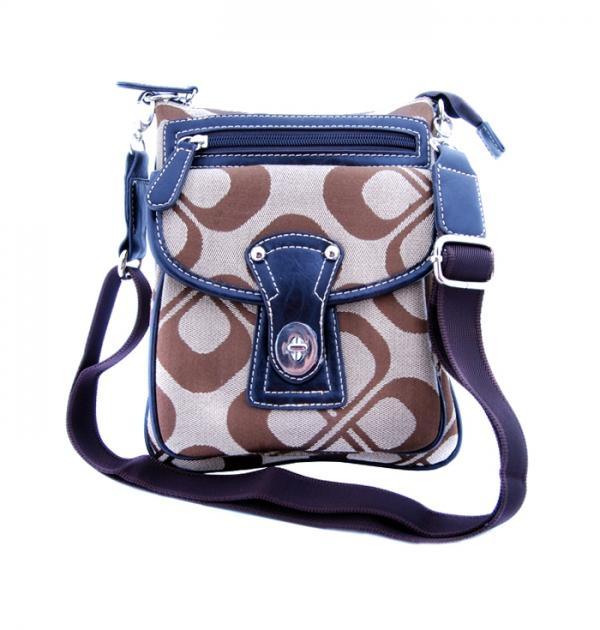 Спортна чанта с флорални мотиви