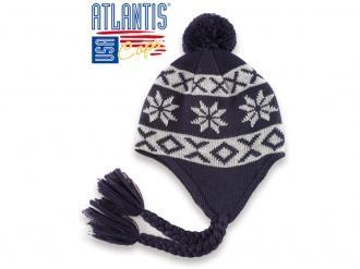 Плетена шапка детска - ICE